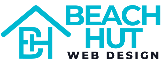 Beach Hut Web Design Logo